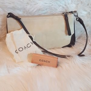 Coach Suede Leather Small Bag NWOT