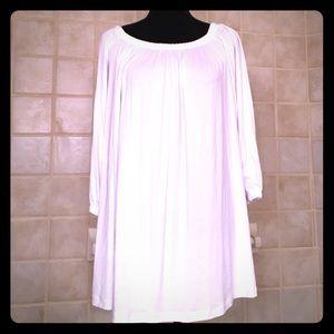 NWT ASOS White oversized Tunic in size 4