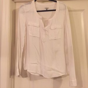 Urban Outfitters Creme Blouse