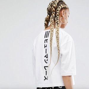 Adidas Original x Pharrell William Crop T-shirt
