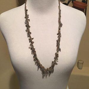 Banana Republic beaded multi strand necklace