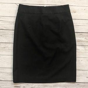 J. Crew Wool Pencil Skirt size 2
