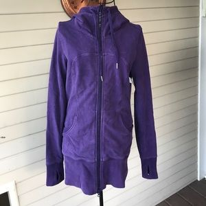 Lululemon Purple Scuba Hoodie Size 8