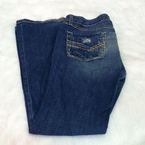 BKE Denim Stella Stretch flare jeans