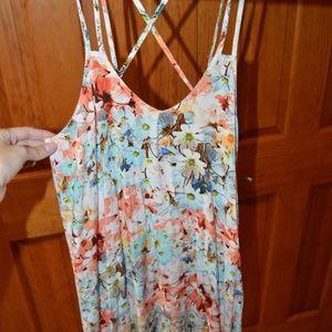 Tobi Mini Floral Dress