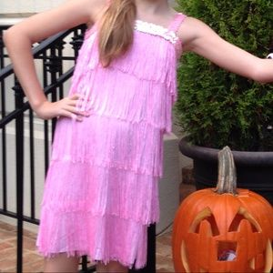 Flapper costume little girls S
