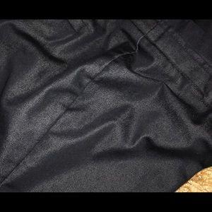 Navy Worthington Petite Career Pants