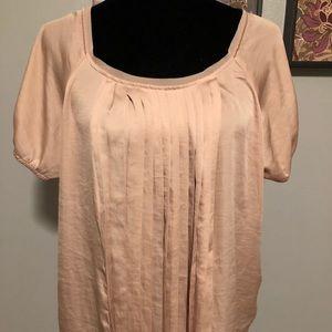 Silk like blouse