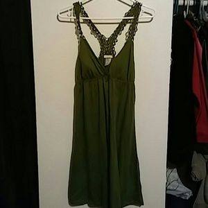 Dresses & Skirts - Size Medium Sexy Green Dress