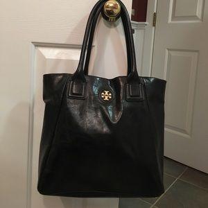 Tory Burch black leather bag