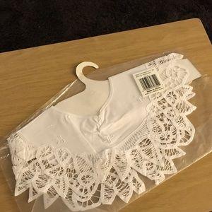 New Battenburg lace collar