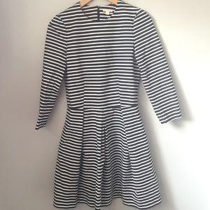 GAP Navy Blue Striped Tall Dress