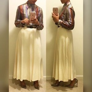 Vintage Ellen Tracy Maxi Skirt