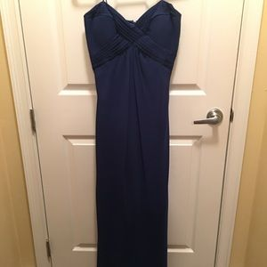 Dark Blue formal dress.  Dave & Johnny.  Size 3/4