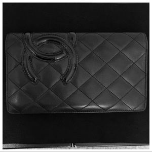 Authentic Chanel Cambon Leather Wallet