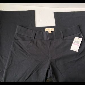 Michael women's dress pants deep navy blue NWT