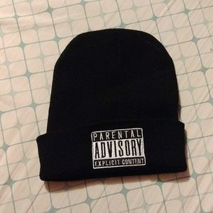 Accessories - Parental Advisory Beanie