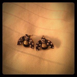 Adorable Banana Republic bumblebee earrings