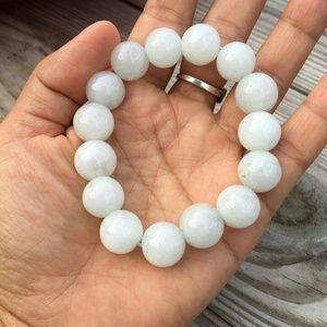Real stone bracelet