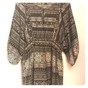 H&M Tribal design dress Sz 10 NWOT