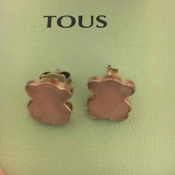 ab1d0b0711a5 Tous silver teddy bear color earrings. M 59eaa1b3522b456c9101a8ab