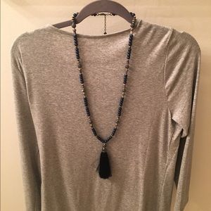 Stella & Dot Trove Tassel Necklace