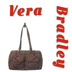 Vera Bradley Highland Plaid Weekend Bag