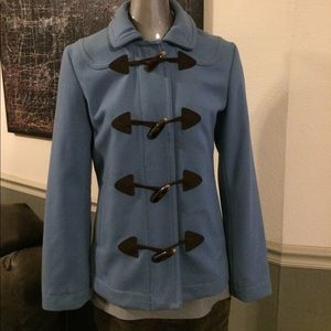GAP Wool Toggle Front Pea Coat