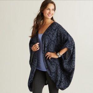 Sweaters - NWOT Navy Kimono
