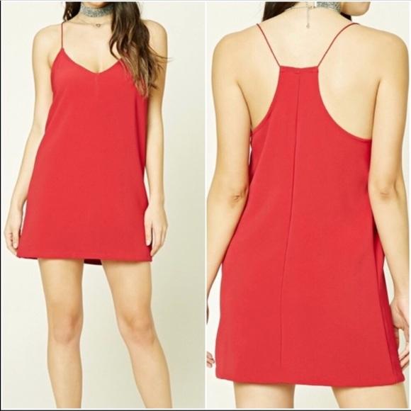 3e92f158bce Forever 21 Dresses   Skirts - Forever 21 Cami Shift Dress