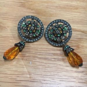 Heidi Daus La Vintage earrings
