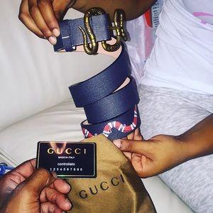 Other - Gucci belt(snake)