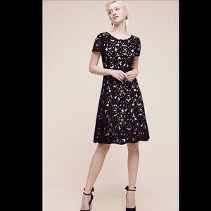 Moulinette Soeurs black nude Fit & Flare Dress 6