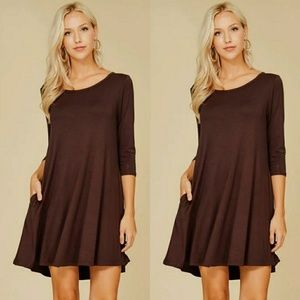 Dresses & Skirts - 🌟🌟Plus Size Long Sleeve A-Line Dress🌟🌟