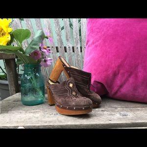 """Vintage """"Via Spiga"""" Platform heels"""