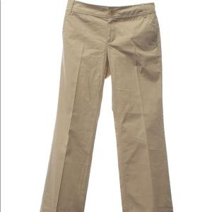 Banana Republic White Bootcut Pants