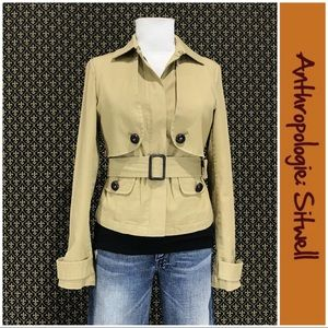 Anthro Trench Style Jacket by Sitwell