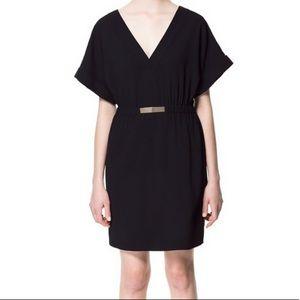 Zara Black Kimono Dress