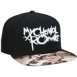 My Chemical Romance snap back hat