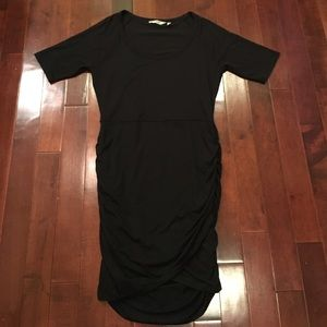 Athleta athleisure soft short sleeve cross dress