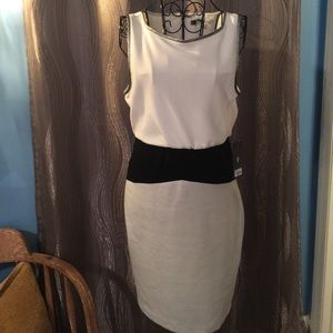 Amazing color block dress NWT
