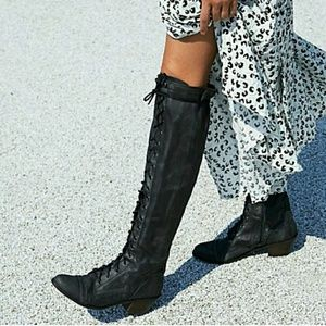 JEFFREY CAMPBELL Erlene Lace Up Boot