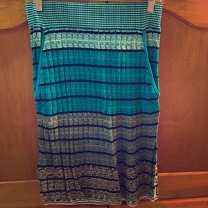 Loft sweater skirt - like new
