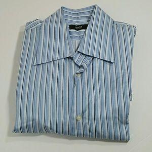 BOSS Men's Stripped Shirt