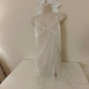 NWOT sheer ivory nightie