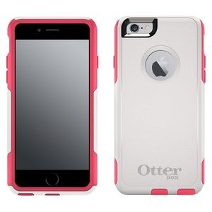 Otter Box Commuter for iPhone 6 Plus - Pink/White