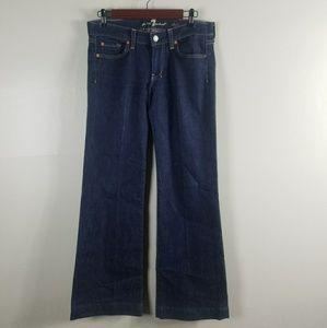 Seven For All Mankind Dark Wash Dojo Jean Size 28
