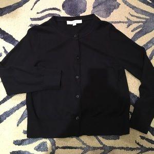 LOFT Size M Navy Blue Cardigan