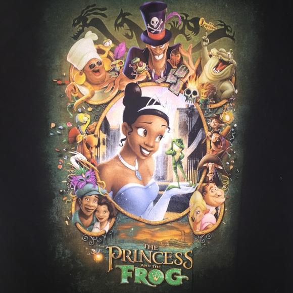 402dd6177b0 Disney Tops - Disney Princess and the Frog shirt size XL