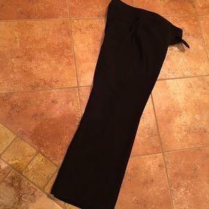 Black Worthington Petite Career Pants